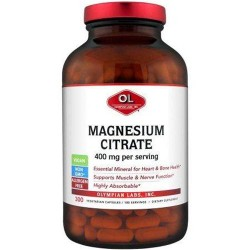 Olympian labs magnesium citrate dietary supplement - 300 ea