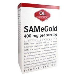 Olympian labs same gold  400 mg tablets - 30 ea