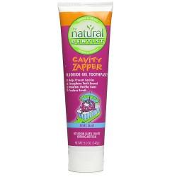 Natural Dentist - Cavity Zapper anticavity gel toothpaste berry blast - 5 oz