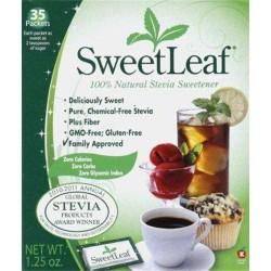 Sweetleaf stevia sweetener - 35 ea