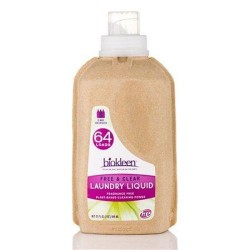 Biokleen laundry liquid free and clear - 32 oz ,6 pack
