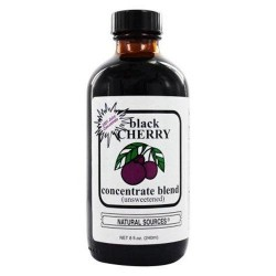 Natural sources black cherry concentrate unsweetened - 8 oz