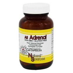 Natural sources all adrenal capsules - 60 ea