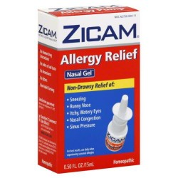 Zicam allergy relief no-drip liquid nasal gel - 0.5 oz