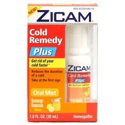 Zicam cold remedy oral mist honey lemon flavor - 1 oz