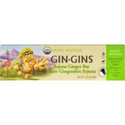 Ginger people gin gins bar organic arjuna ginger - 1.23 Oz ,16 pack