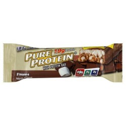 Pure protein bar Smores - 1.76, 6 pack