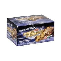 Pure protein bar chocolate chip - 1.76 oz, 6 pack