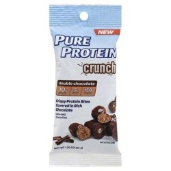 Pure protein crunch double chocolate protein bites - 1.2oz ,1pk ,6 pack