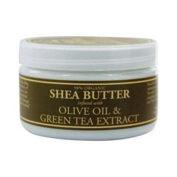 Nubian heritage sundial creations infused butter olivend green tea - 4 oz
