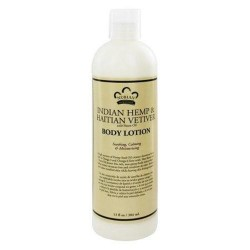 Nubian heritage lotion hemp and haitian vetiver - 13 oz