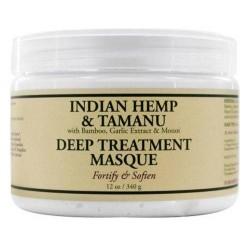 Nubian heritage deep treatment hair masque indian hemp and tamanu - 12 oz.