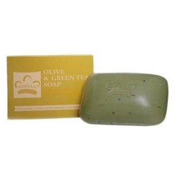 Nubian heritage bar soap, olive and green tea - 5 oz
