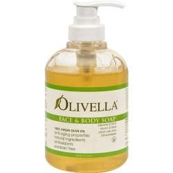 Olivella virgin olive oil face and body liquid soap - 10.14 oz