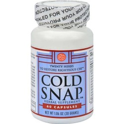 Ohco cold snap caps - 60 ea