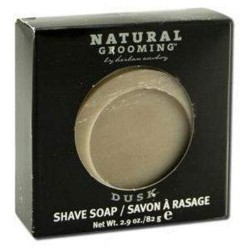 Organic grooming by herban cowboy shave soap dusk - 2.9 oz