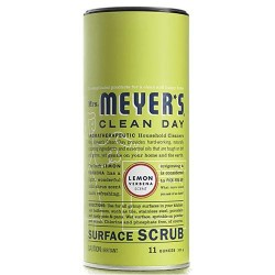 Mrs.meyers surface scrub lemon - 11 oz, 6 pack