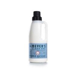 Mrs. Meyers fabric softener bluebell  - 32 oz, 6pack