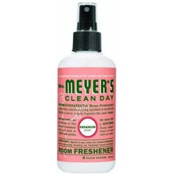 Mrs. Meyers room freshener,geranium - 8 oz, 6pack
