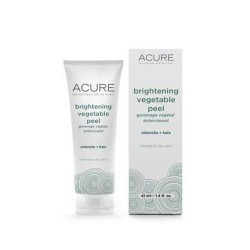 Brightening vegetable peel acure organics liquid - 1.4 oz