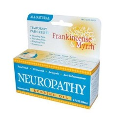 Frankincensend myrrh neuropathy rubbing oil - 2 oz