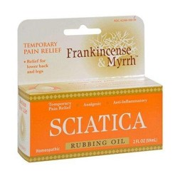 Frankincense and myrrh sciatic rubbing oil - 2 oz