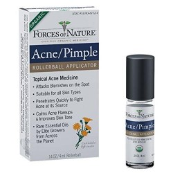 Forces of nature acne pimple control rollerball - 0.14 0z