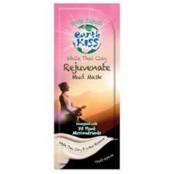 Earth kiss white thai clay rejuvenate mud mask - 0.59 oz