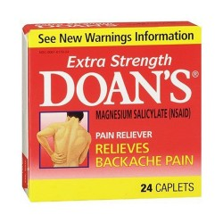Doan's extra strength pain reliever caplets - 24 ea