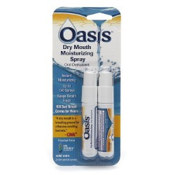 Oasis moisturizing mouth spray for dry mouth mild mint - 0.27 oz