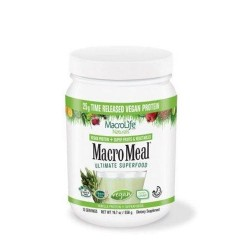 Macromeal vegan vanilla 15 serving - 21.7 oz