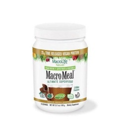 Macromeal vegan chocolate 15 serving - 23.8 oz