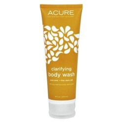 Acure clarifying body wash pure mint lilac stem cell - 8 oz.