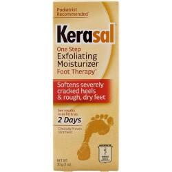 Kerasal exfoliating moisturizing foot ointment - 1oz