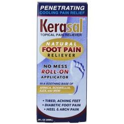 Kerasal foot pain roll on - 3 oz