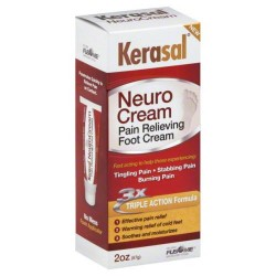 Kerasal neuro cream pain relieving foot cream - 2.0 oz.