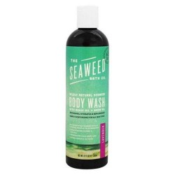 The seaweed bath co. Wildly natural seaweed body wash lavender scent - 12 oz.