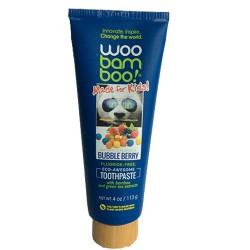 Woobamboo kids marshmallow toothpaste - 4 oz