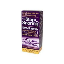 Essential health helps stop snoring throat spray - 2 oz