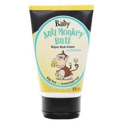 Anti monkey butt baby diaper rash cream tube with calamine - 3 oz