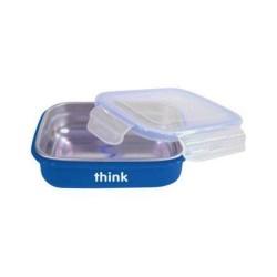 Thinkbaby bento box bpa free blue - 1 ea