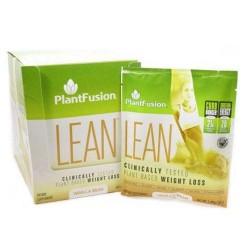 Lean vanilla bean by plant fusion - 12 Packets