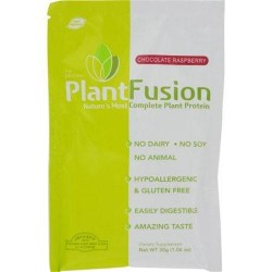 Plantfusion chocolate raspberry packets case of 12 - 30 Grams