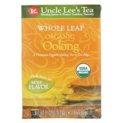 Uncle Leaf Organic Oolong 18 Tea Bags - 1.27 oz, 12 pack