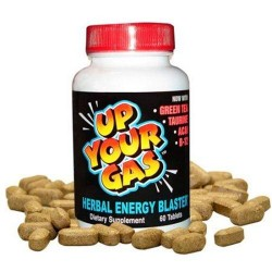 Hot stuff up your gas herbal energy blaster tablets - 30 ea