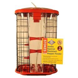 Classic Brands Llc - Wb stokes jumbo squirrel resistant hopper feeder - 9.4 lb, 2 ea