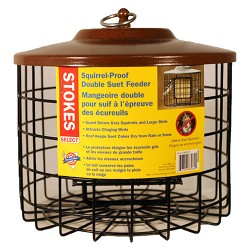 Classic Brands Llc - Wb stokes squirrel proof double suet feeder - 2 ea