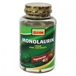 Health from the sun  monolaurin 1100 mg. Vegetarian capsules  -  90 ea