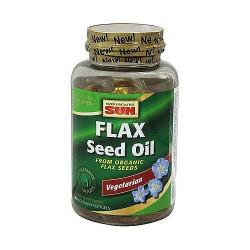 Health From The Sun 100% vegetarian Flax Seed Oil liquid soft gels - 90 ea