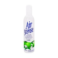 Air sense naturally air freshener, lime - 7 oz, 4 pack